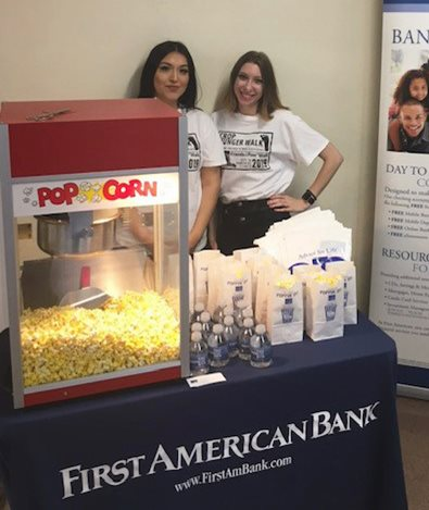 Our branch staff frequently provide free popcorn at community events.